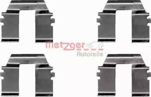 Metzger 109-1232 - Piederumu komplekts, Disku bremžu uzlikas interparts.lv
