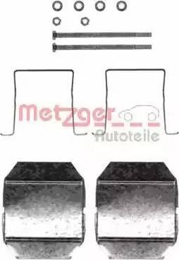 Metzger 109-1237 - Piederumu komplekts, Disku bremžu uzlikas interparts.lv
