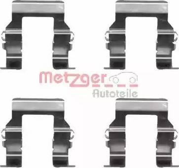 Metzger 109-1279 - Piederumu komplekts, Disku bremžu uzlikas interparts.lv