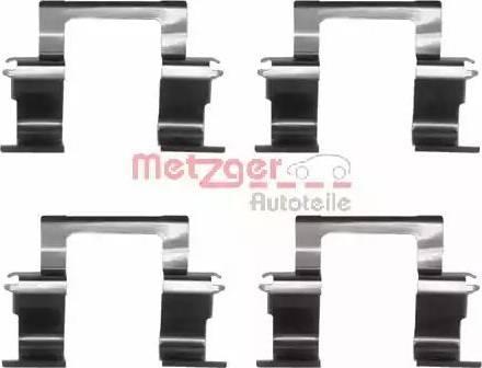 Metzger 109-1274 - Piederumu komplekts, Disku bremžu uzlikas interparts.lv