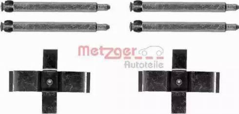 Metzger 109-1713 - Piederumu komplekts, Disku bremžu uzlikas interparts.lv
