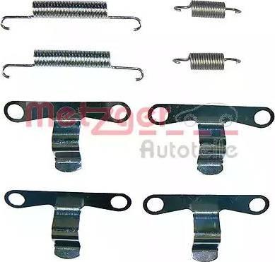Metzger 105-0594 - Piederumu komplekts, Stāvbremzes mehānisma bremžu loks interparts.lv