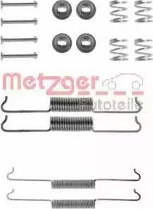 Metzger 105-0521 - Piederumu komplekts, Bremžu loki interparts.lv