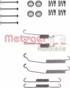 Metzger 105-0618 - Piederumu komplekts, Bremžu loki interparts.lv