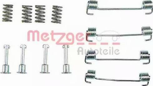 Metzger 105-0620 - Piederumu komplekts, Stāvbremzes mehānisma bremžu loks interparts.lv