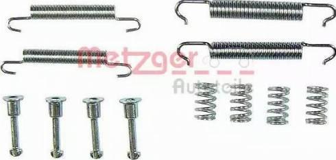 Metzger 105-0621 - Piederumu komplekts, Stāvbremzes mehānisma bremžu loks interparts.lv