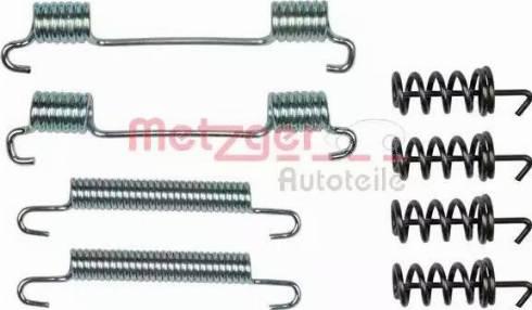 Metzger 105-0868 - Piederumu komplekts, Stāvbremzes mehānisma bremžu loks interparts.lv