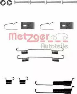Metzger 105-0800 - Piederumu komplekts, Bremžu loki interparts.lv