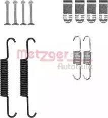 Metzger 105-0881 - Piederumu komplekts, Stāvbremzes mehānisma bremžu loks interparts.lv
