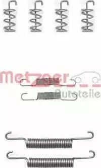 Metzger 105-0831 - Piederumu komplekts, Stāvbremzes mehānisma bremžu loks interparts.lv