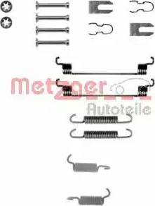 Metzger 105-0783 - Piederumu komplekts, Bremžu loki interparts.lv