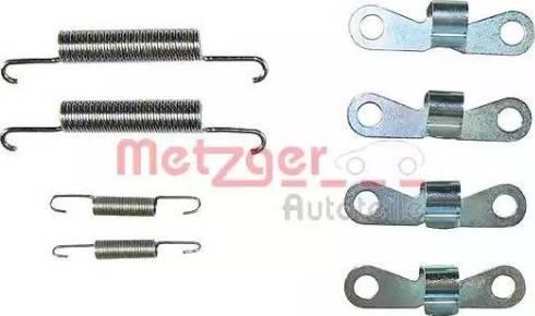 Metzger 105-0720 - Piederumu komplekts, Stāvbremzes mehānisma bremžu loks interparts.lv