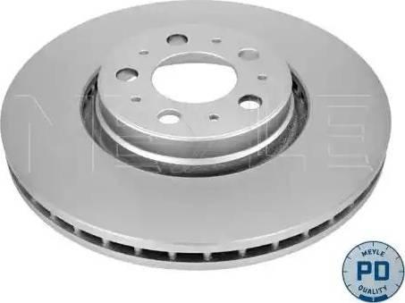 Meyle 583 521 5024/PD - Bremžu diski interparts.lv