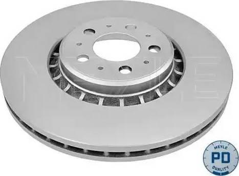 Meyle 583 521 5025/PD - Bremžu diski interparts.lv