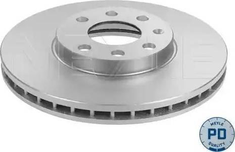 Meyle 615 521 6014/PD - Bremžu diski interparts.lv
