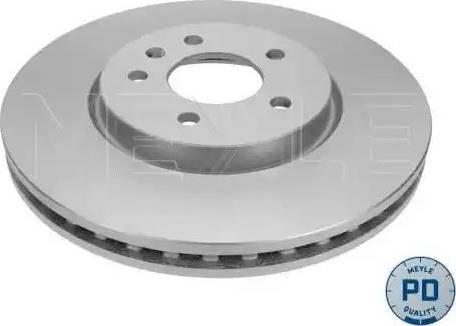 Meyle 615 521 0007/PD - Bremžu diski interparts.lv