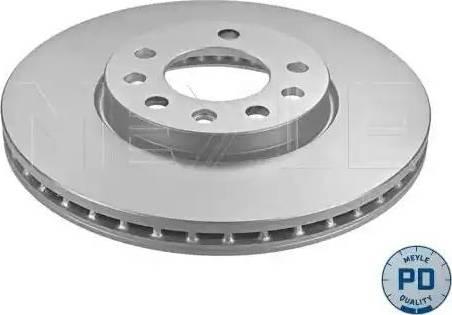 Meyle 615 521 0010/PD - Bremžu diski interparts.lv