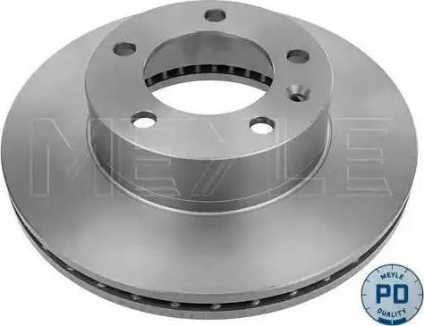 Meyle 615 521 0011/PD - Bremžu diski interparts.lv
