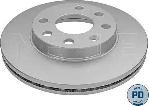 Meyle 683 521 6011/PD - Bremžu diski interparts.lv