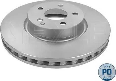 Meyle 015 521 0039/PD - Bremžu diski interparts.lv