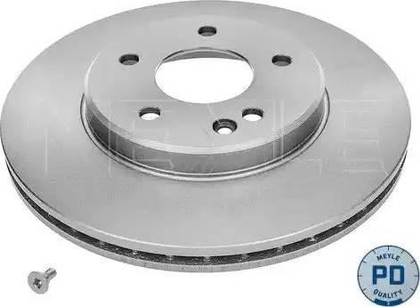 Meyle 015 521 0035/PD - Bremžu diski interparts.lv