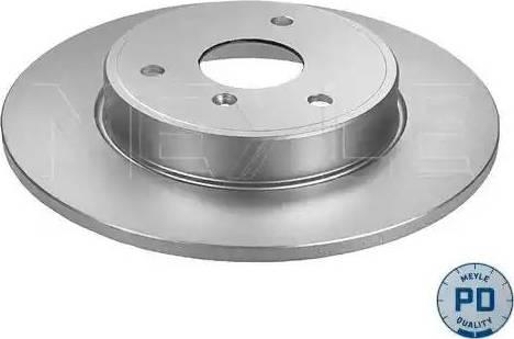Meyle 015 521 0030/PD - Bremžu diski interparts.lv