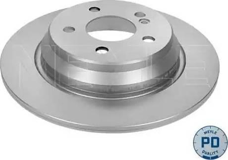 Meyle 015 523 0036/PD - Bremžu diski interparts.lv