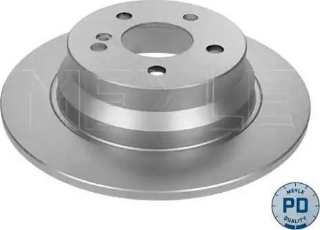 Meyle 015 523 0037/PD - Bremžu diski interparts.lv
