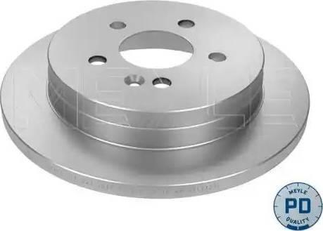 Meyle 015 523 0025/PD - Bremžu diski interparts.lv