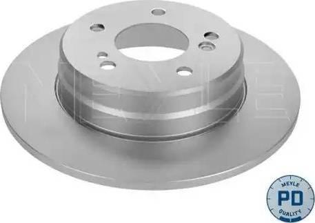 Meyle 015 523 0021/PD - Bremžu diski interparts.lv