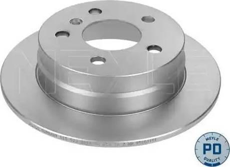 Meyle 015 523 0027/PD - Bremžu diski interparts.lv