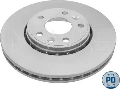 Meyle 16-15 521 0041/PD - Bremžu diski interparts.lv