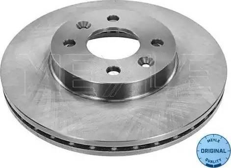 Meyle 16-15 521 0001 - Bremžu diski interparts.lv