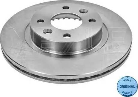 Meyle 16-15 521 0010 - Bremžu diski interparts.lv