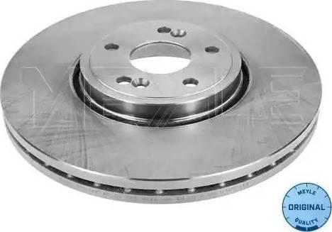 Meyle 16-15 521 0012 - Bremžu diski interparts.lv