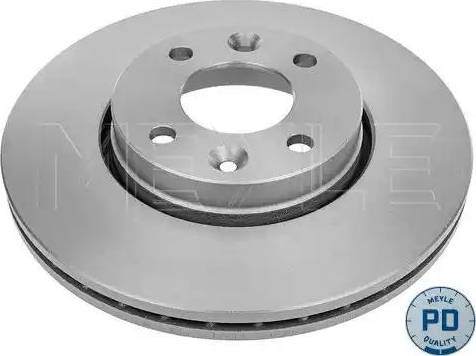 Meyle 16-15 521 0039/PD - Bremžu diski interparts.lv