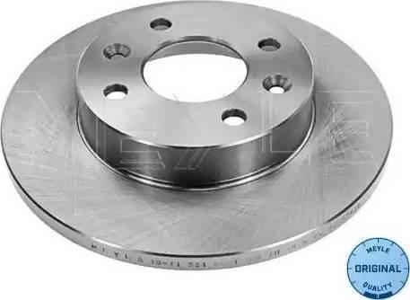 Meyle 16-15 521 0035 - Bremžu diski interparts.lv