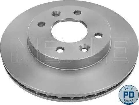 Meyle 16-15 521 0037/PD - Bremžu diski interparts.lv