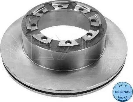 Meyle 16-15 523 0001 - Bremžu diski interparts.lv