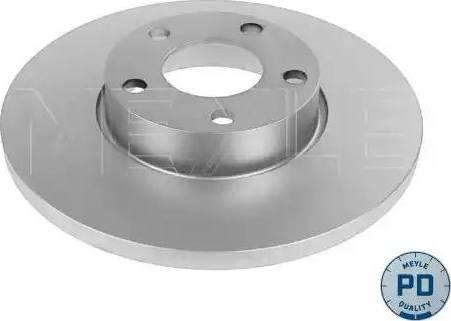 Meyle 115 521 0036/PD - Bremžu diski interparts.lv