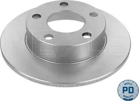 Meyle 115 521 0037/PD - Bremžu diski interparts.lv