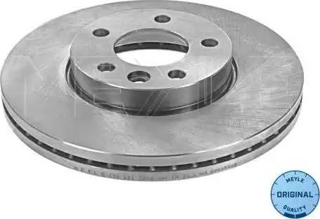 Meyle 115 521 1053 - Bremžu diski interparts.lv