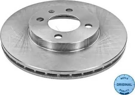 Meyle 115 521 1006 - Bremžu diski interparts.lv