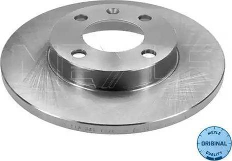 Meyle 115 521 0029 - Bremžu diski interparts.lv