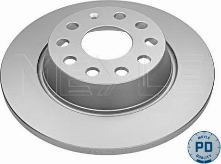 Meyle 115 523 0043/PD - Bremžu diski interparts.lv