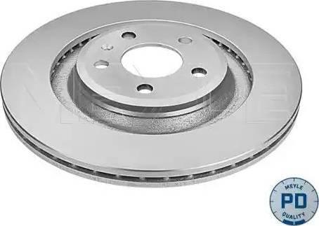 Meyle 115 523 0009/PD - Bremžu diski interparts.lv