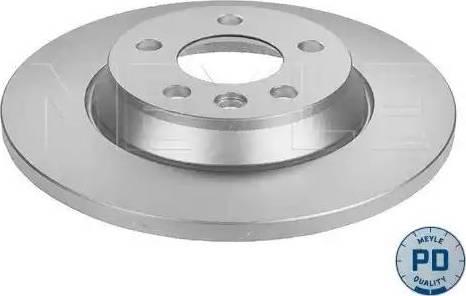 Meyle 115 523 0019/PD - Bremžu diski interparts.lv