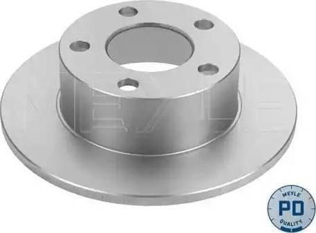 Meyle 115 523 0015/PD - Bremžu diski interparts.lv