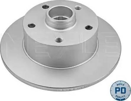 Meyle 115 523 0016/PD - Bremžu diski interparts.lv