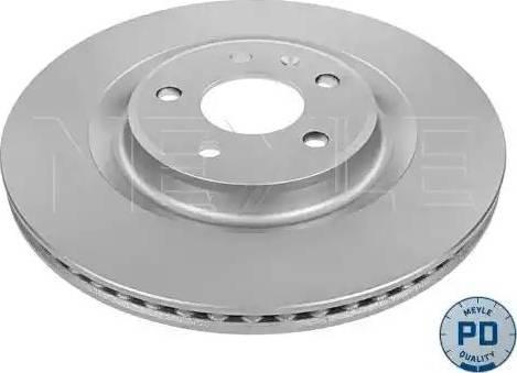 Meyle 115 523 0035/PD - Bremžu diski interparts.lv